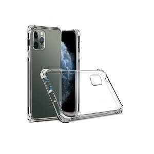 """Apple iPhone 11 Pro 5.8"""" Clear Case Shockproof Tough Hard Gel Clear Transparent Anti knock Air Cushion Case Cover"""