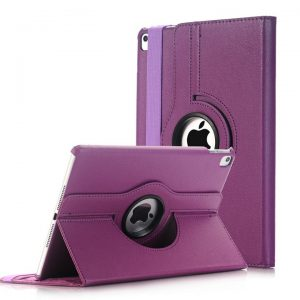 Apple iPad Pro 10.5 360 Degree Rotate Smart Leather Case Cover (Purple)