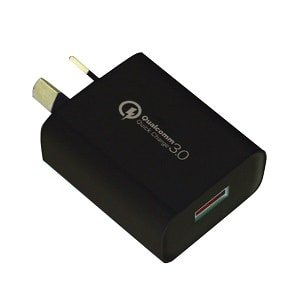 18W Wall Charger Qualcomm Quick Charge QC 3.0 Super Fast Charger