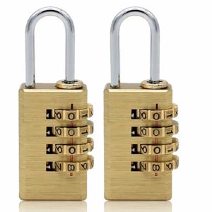 Combination Approved Padlock 4 Digit Locker Travel Luggage Lock