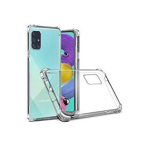 Samsung Galaxy A51 Clear Case Shockproof Heavy Duty Gel Air Cushion Cover