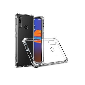 Motorola Moto E6 Plus Clear Case Shockproof Heavy Duty Gel Clear Air Cushion Cover
