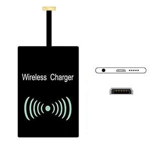 Type A Universal Qi Wireless Charger Receiver Charging Adapter Pad Coil For Andriod