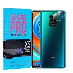 [3 Pack] Xiaomi Redmi Note 9 Pro Camera Lens Tempered Glass Screen Protector Film Guard