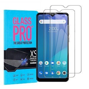 [ 2 Pack ] Telstra Evoke Plus 2 Screen Protector Tempered Glass Film Guard - Case Friendly