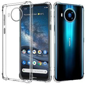 Nokia 8.3 5G Clear Case Shockproof Tough Transparent Anti Knock Air Cushion Heavy Duty Cover