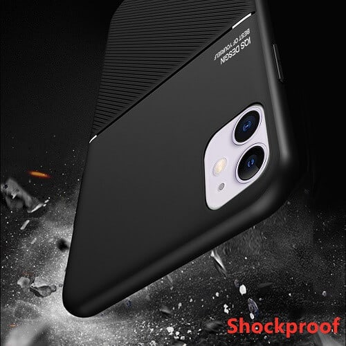 Apple iPhone 12 Mini Business Style Luxury Shockproof Case Heavy Duty Rugged Anti Knock Cover ..