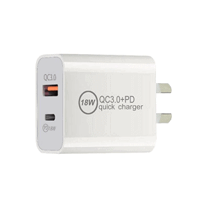 18W PD + USB Type C Fast Charging Wall Plug Charger Adapter For Apple iPhone Samsung Galaxy Google Nokia Oppo Huawei iPad