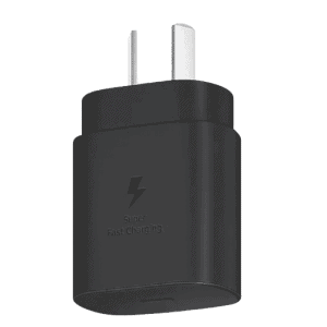 Genuine Official Samsung 25W EP-TA800NBEGAU Super Fast PD USB Type C Wall Charger Plug Adapter (Black)