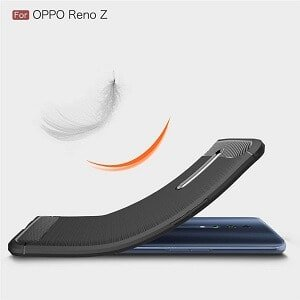 Oppo Reno Z Shockproof Case Cover + Free Tempered Glass Screen Protector