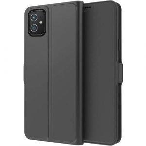Asus ZenFone 8 ZS590KS Flip Wallet Case Bumper Back Protective Protection Card Retro Leather Cover