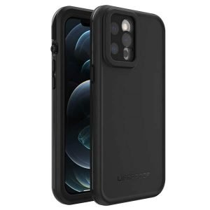 LifeProof FRE Case Cover for Apple iPhone 12 Pro Max - Black 77-65458