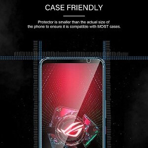 ASUS Rog Phone 5 Clear Full Coverage Tempered Glass Screen Protector Film Guard