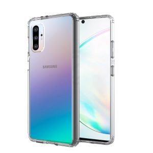 Samsung Galaxy Note10+ Plus Clear Case Slim With 4 Corners [Shock Absorption] Hard Back Soft Bumper Cover