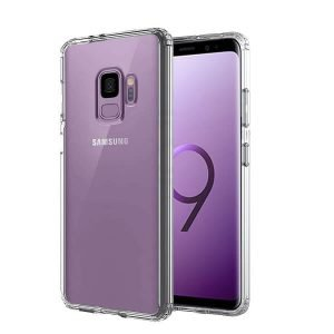 Samsung Galaxy S9 Clear Case Slim With 4 Corners [Shock Absorption] Hard Back Soft Bumper Cover
