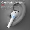 Lenovo X9 TWS Bluetooth 5.0 Earphones Charging Box Wireless Earphone 9D Stereo Sports Waterproof Earbuds Headsets (White)