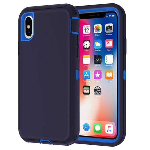 Apple iPhone X / XS New Defender Shockproof Case Cover for Sale