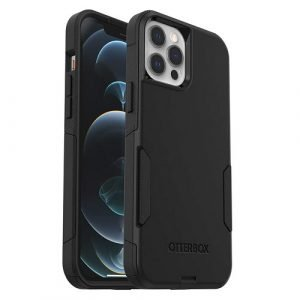 Otterbox Case For Apple iPhone 12 Pro Max Commuter Series Rugged Shockproof Back Cover -Black -77-65453