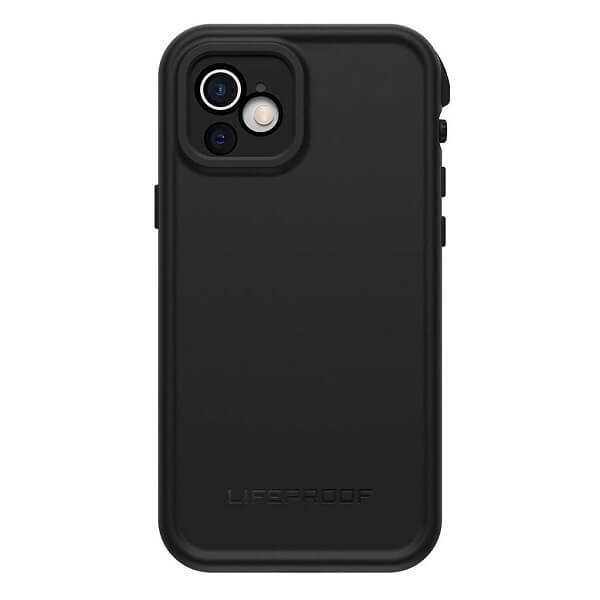 LifeProof FRE Series Waterproof Case Cover for Apple iPhone 12 (ONLY) - Black 77-82137