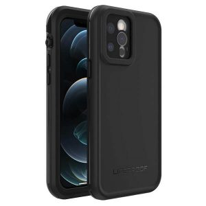 LifeProof FRE Series Waterproof Case Cover for Apple iPhone 12 Pro - Black 77-65909