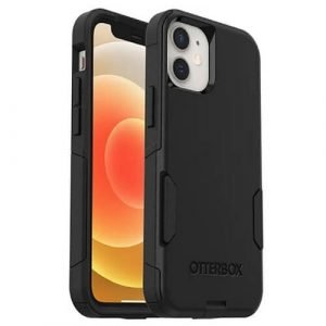 Otterbox Case For Apple iPhone 12 Mini Commuter Series Rugged Shockproof Back Cover -Black -77-65356