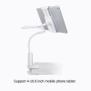 Universal 360° Rotating Tablet iPad Stand Holder Lazy Bed Desk Mount iPad iPhone Samsung Lenovo (White)