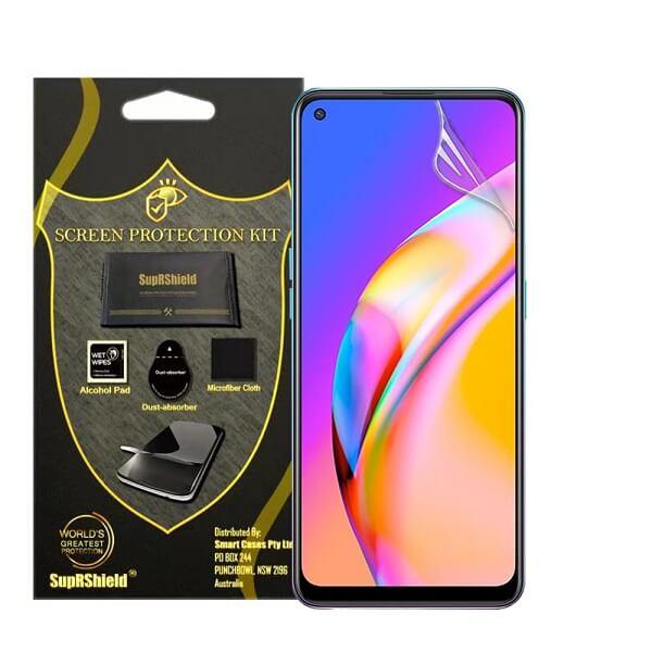 (3 Pack) Oppo A94 5G Anti Glare Matte Plastic Soft Pet Screen Protector Film Guard