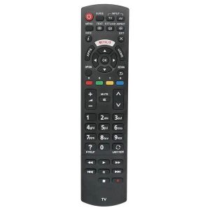 Replacement Remote Control For Panasonic TV LED LCD Smart TV Plasma TV With NETFLIX Key (No Programming Needed) N2QAYB000352