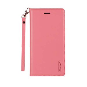 Apple iPhone X /XS Light Pink Leather Wallet Cover Case