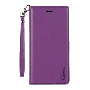 Apple iPhone 7 Plus / 8 Plus Purple Leather Wallet Cover Case