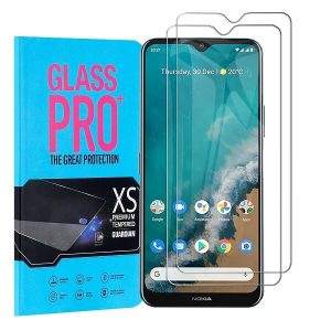 [2 Pack] Nokia G50 5G Tempered Glass Screen Protector Film Guard (Clear)