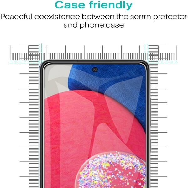 [2 Pack] Samsung Galaxy A52s 5G Full Coverage Tempered Glass Screen Protector Film Guard (Clear)