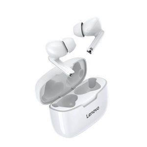 Original Lenovo XT90 TWS Thinkplus Live Pods True Wireless Bluetooth 5.0 Earphones Touch Control Mini Earbuds Sport Handsfree Headset Headphones (White)